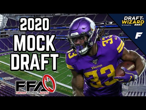 Fantasy Football Mock Draft - 2020 Fantasy Football Advice | 12 Team | Half PPR | 4th Pick