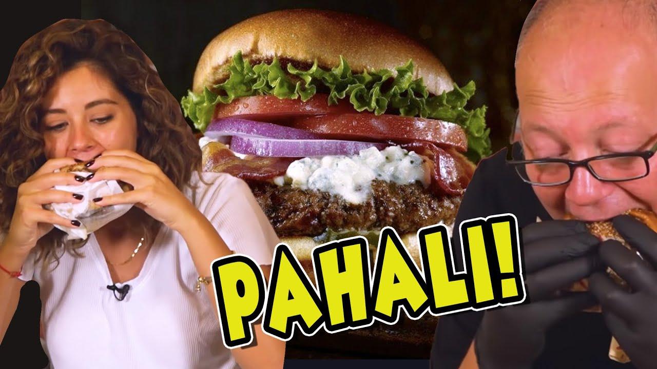 1 Dakikada En Pahalı Hamburgeri Kim Sipariş Edecek?