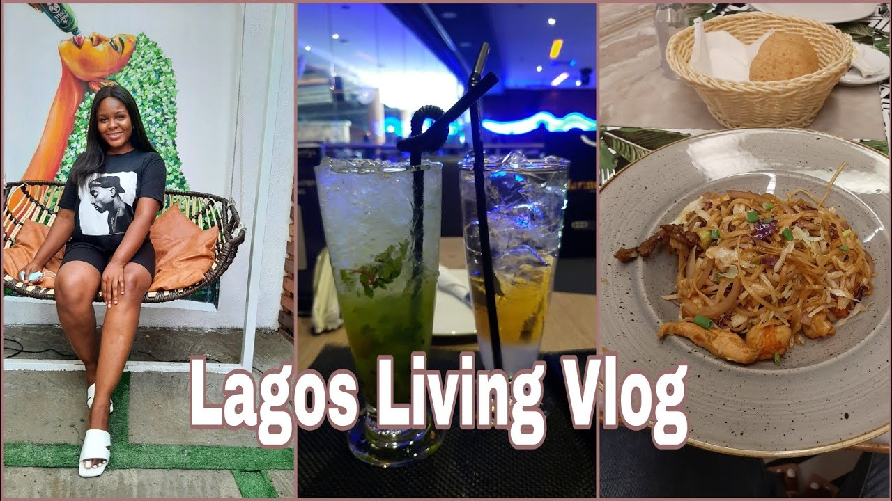 Download Living in Lagos| Date Night @ The Grid lagos, Rhapsody's & Cactus Restaurant|MayChills store Opening