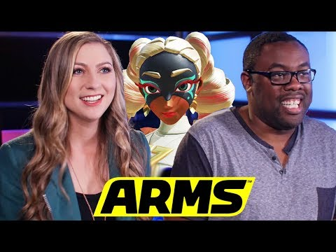 TWINTELLE IS MEAN - ARMS Gameplay w/ Andre