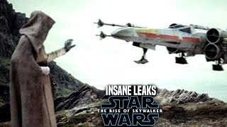 INSANE The Rise Of Skywalker Leaks Revealed! (Star Wars Episode 9 Spoilers)