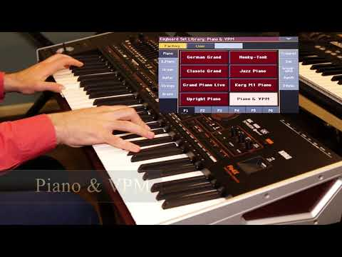Korg Pa4x -Pianos (Factory Sounds & Keyboard Sets)