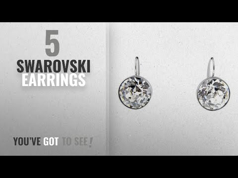 10 Best Swarovski Design Earrings: Swarovski Bella Pierced Earrings