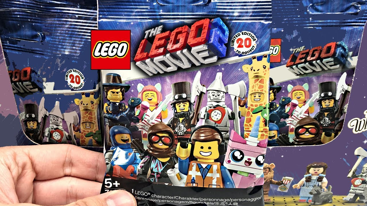 The Lego Movie 2 Minifigures 60 Pack Box Opening Youtube
