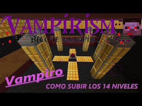 VAMPIRISM MOD 1.12.2 | LOS 14 NIVELES DE VAMPIRO Y SUS ESTRUCTURAS | MINECRAFT MOD