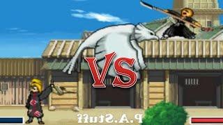 Ikkaku Madarame vs Deidara - Bleach vs Naruto 2.3