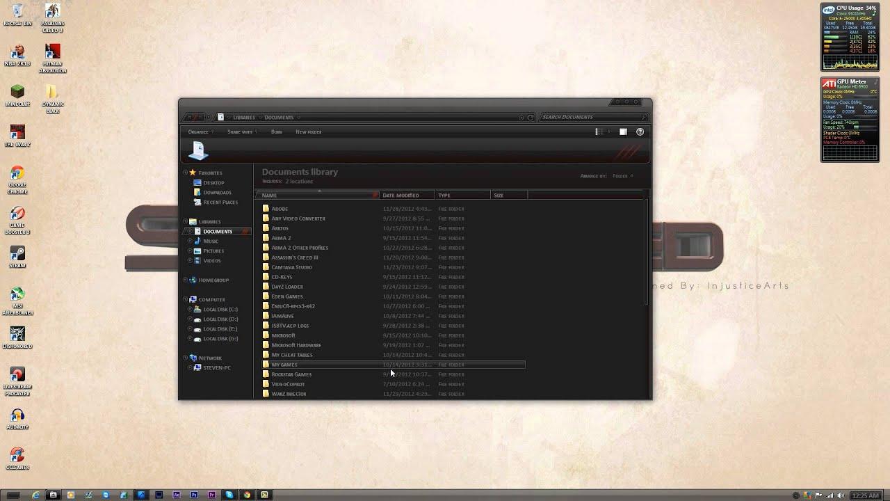 How to install Custom Windows 7 Themes | Tutorial | SC