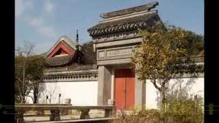 三溪園南口(修理中の)上海横濱友好園