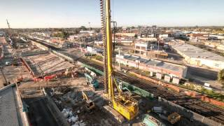 Springvale Road Level Crossing removal