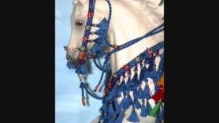 breyer Model horse tack, Halters & arabian costumes
