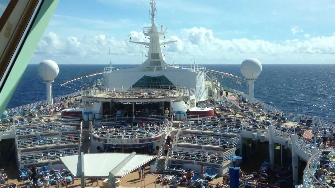 royal caribbean explorer of the seas upper deck youtube