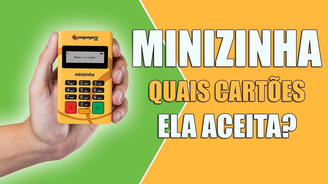 a8176c93d Minizinha PagSeguro - Quais Cartões Ela Aceita? - YouTube