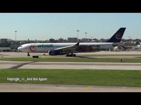 Lisbon Airport Ground Handling Service Landings Take-offs TAP Brussels Iberia Ryanair Orbest Antonov