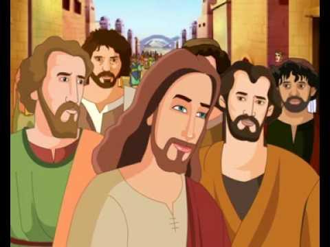 Bible Stories For Children Jesus Heals A Man Born Blind