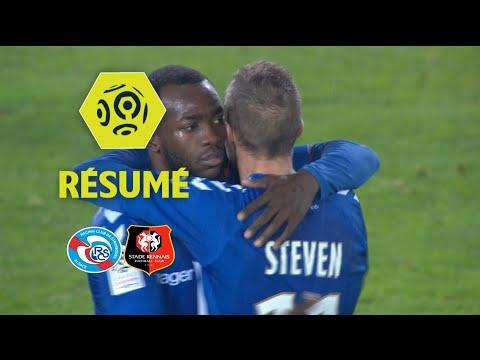 RC Strasbourg Alsace - Stade Rennais FC (2-1)  - Résumé - (RCSA - SRFC) / 2017-18