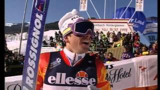 Alpine ski WM 1991 Saalbach GS (m)