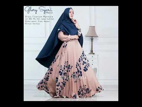 Model Baju Muslim Syar I 2018 Terbaru Stylish Modis Dan Elegan