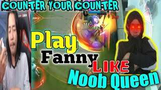 Fanny Gameplay | Counter your Counters : by Taiki Nushiro (Fanny highlights)