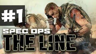 Прохождение Spec Ops: The Line на русском - часть 1 - Пески
