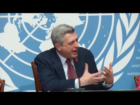UNHCR High Commissioner Filippo Grandi on Protection and Solutions