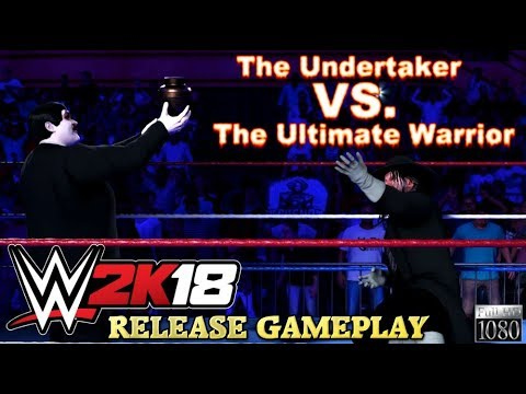 WWE 2K18 Gameplay: The Ultimate Warrior VS. The Undertaker ...