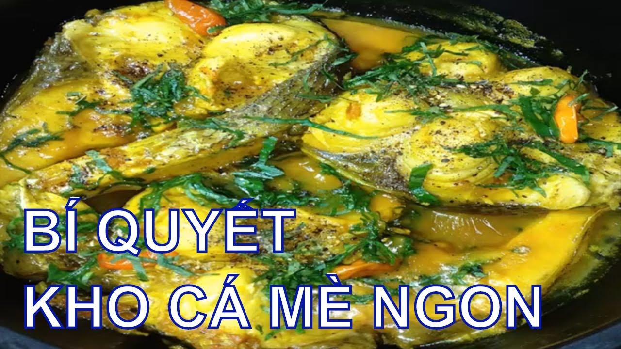 Bí quyết để KHO CÁ MÈ thơm ngon và không hề bị tanh/By Cooking DT