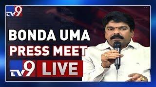 TDP Bonda Uma Press Meet LIVE || Vijayawada - TV9
