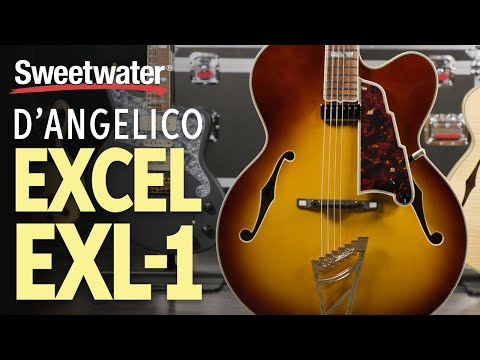 D'Angelico Excel EXL-1 Hollowbody Electric Guitar Playthrough