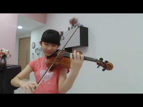 Romance from Albumblatt, wwv 94, composed by Richard Wagner and played by Chloe Chua (Age 13)