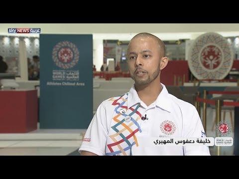 خليفة دعفوس المهيري يتحدى -السرطان- من أجل التطوع في #الأولمبياد_الخاص  - 18:54-2019 / 3 / 16