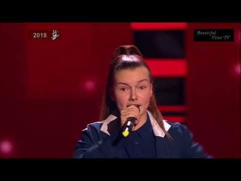 Alexandra. 'Tough Lover' (Christina Aguilera).The Voice Kids Russia 2018.
