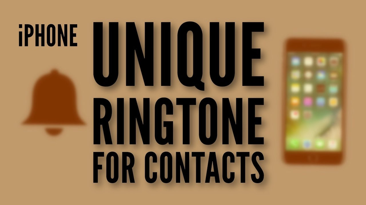 iphone change ringtone for all contacts