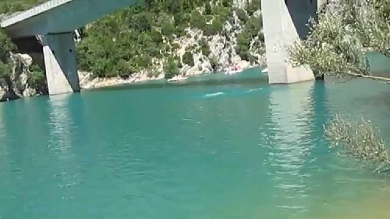 Saut du pont du lac sainte croix des gorges du verdon - Sainte croix du verdon office du tourisme ...