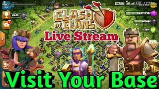 Clash OF Clans Live Stream Watch Me