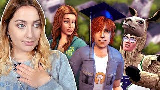 The Entire History of University in The Sims