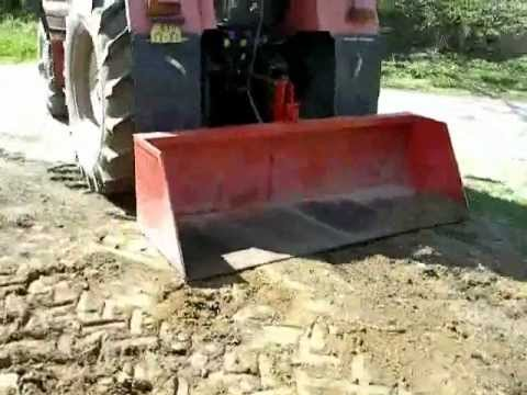lopata za traktor heckschaufel f r traktor youtube. Black Bedroom Furniture Sets. Home Design Ideas