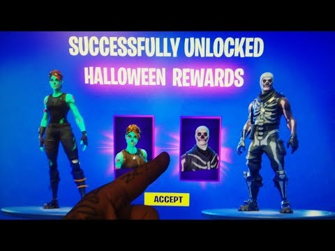 *NEW* Successfully UNLOCK Skull Trooper & Ghoul Trooper Skins! (Fortnite Battle Royale Glitches)