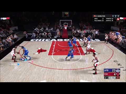 Michael Jordan DENIED by Raef LaFrentz [NBA 2K18 MyTeam Gameplay]