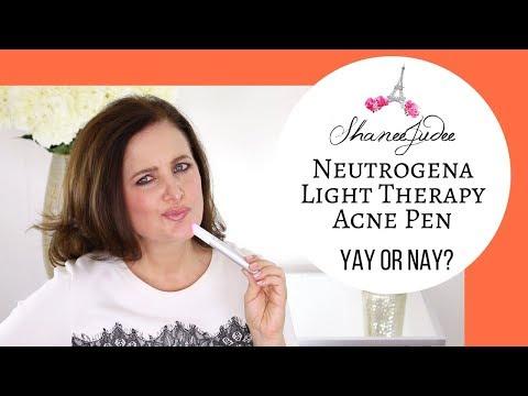 Neutrogena Light Therapy Acne Spot Treatment Review Shaneejudee Youtube