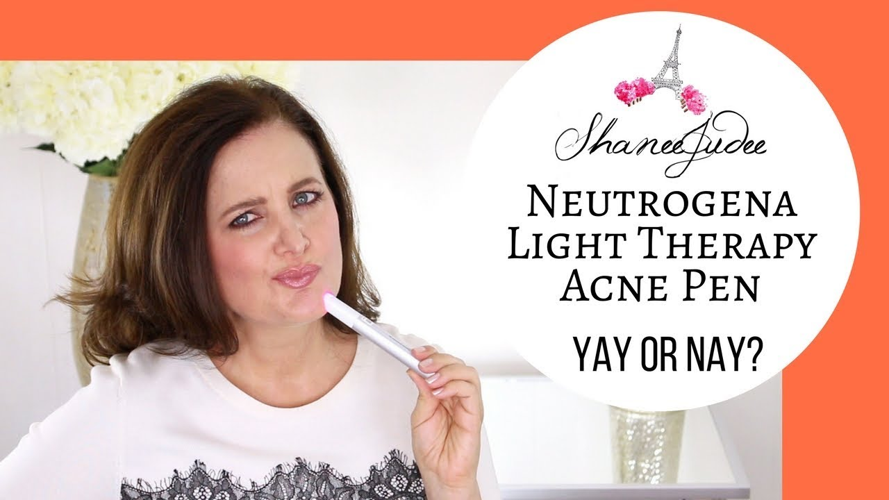 Neutrogena Light Therapy Acne Spot Treatment Review Shaneejudee
