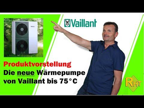 Die Neuen Wärmepumpe Von Vaillant Bis 75°C