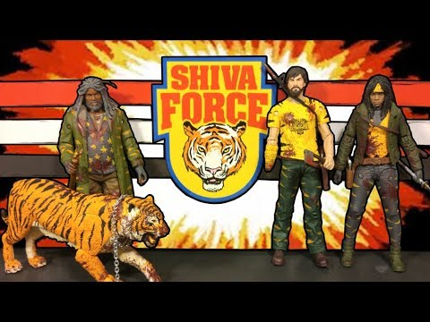 The Walking Dead Shiva Force Action Figure Set Review
