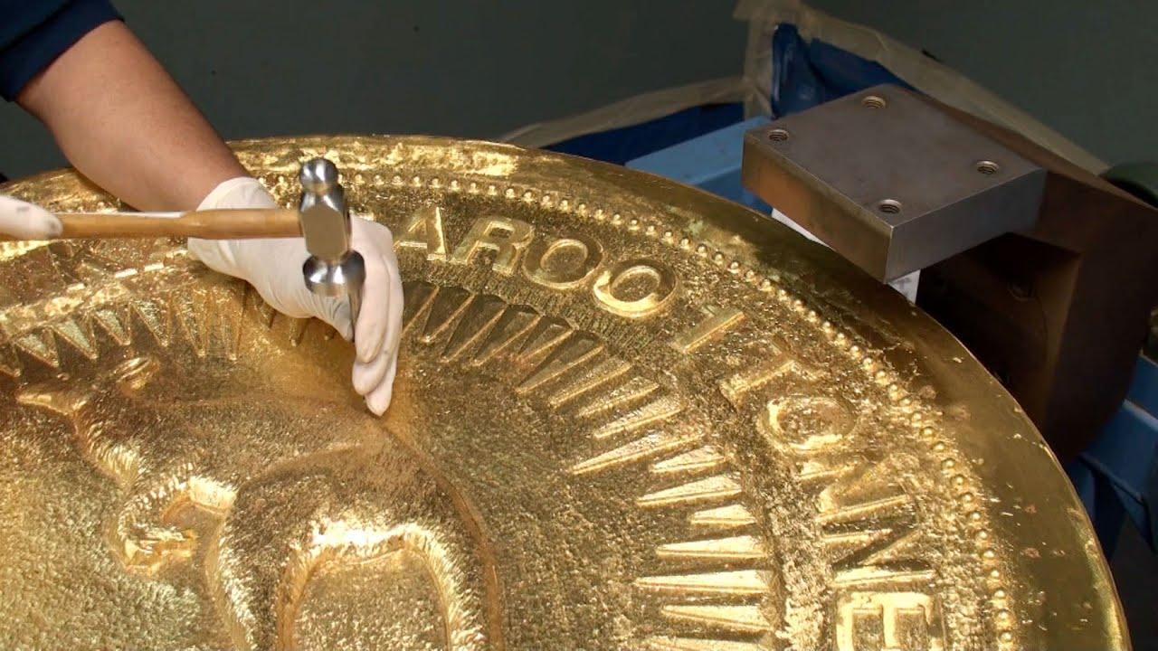 Größte Goldmünze der Welt zu Gast bei pro aurum
