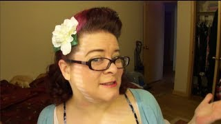 Easy 1940s Vintage Hairstyle-Esther Williams Inspired