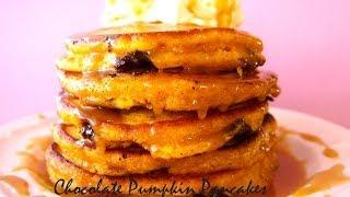 Chocolate Pumpkin Pancakes Recipe