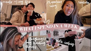 WHAT I SPEND IN A WEEK AS A 24 YEAR OLD IN DC AREA // How Much I Spend Realistically & Treat Myself!