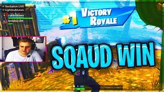 14 KILL SQAUD WIN GET REKT / FORTNITE BATTLE ROYALE