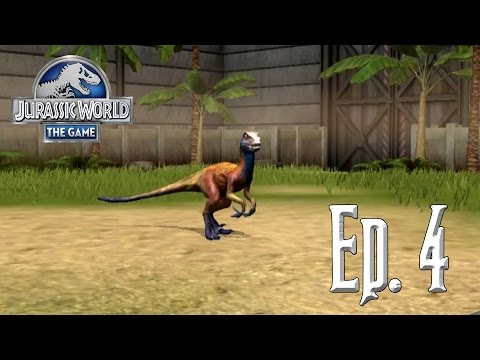 Nuevos dinosaurios!!!!! // Jurassic World: El Juego #4 - En Español HD