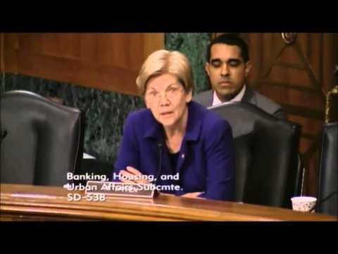 Elizabeth Warren - The State of Rural Banking: Challenges and Consequences