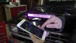 Does Your LED Light Bar RGB?!  Mictunings 22